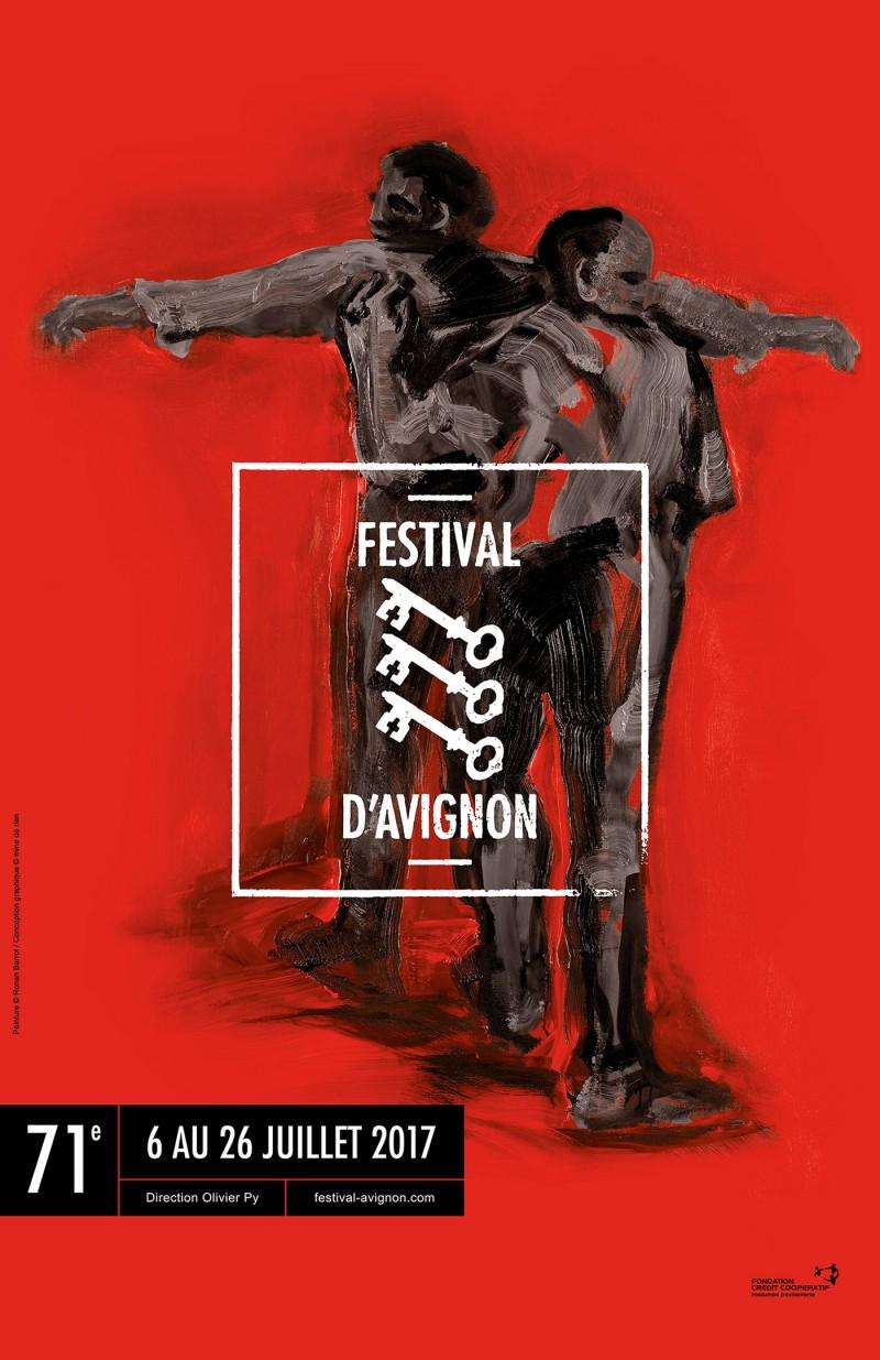 affiche festival avignon 2017